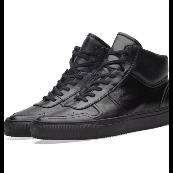 d84171ad0da9 Common Projects Bball black mid 45 - 12  495